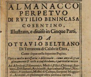 Almanacco Perpetuo di Rutilio Benincasa