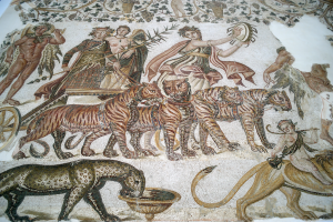Trionfo indiano di Bacco museo di Sousse