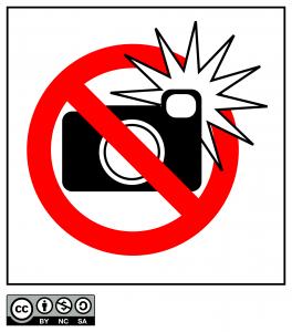 no flash silenziate il telefono